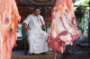Butcher at the Luxor Souk