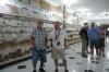 Bruce & Gerry at the Alabastor Factory, Luxor EG