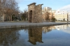 Templo de Debod, rescued from the Low Aswan Dam, Egypt and rebuilt in Madrid