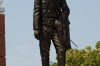 Sandino's statue. Plaza de la Revolucion