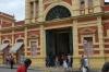 Front facade of the Mercado Municipal Adolpho Lisboa, Menaus BR