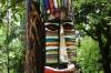 Totem pole. Manuel Antonio beach