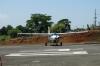 Quepos airport, leaving Manuel Antonio in a 12 seater, single prop plane