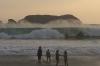 Big waves at Manuel Antonio beach