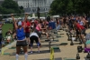 Crossfit competition in the National Mall, Washington DC