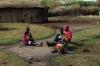 Inside the Masai Village, Masaimara, Kenya