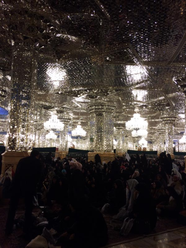 Imam Reza Shrine and major pilgrimage place in Iran