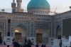Dome & Minarets of Goharshad Mosque. Imam Reza Shrine and major pilgrimage place in Iran
