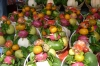Fruit offerings for the Lady Chua Xu temple