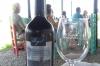 Lunch at La Azul Restaurant and Winery, near Mendoza AR