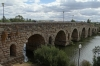 Roman Bridge, approx 800m long, Merida