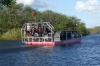 Airboat on the Everglades National Park, near Miami FL