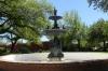 Fountain in Natchez Memorial Park MS