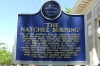 The story of the Natchez Burning (deadly fire in concert hall in 1945), Natchez MS