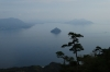View on walk from Miyajami Ropeway to Mt Misen, Miyajima Island, Japan