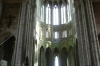 The Abbey church, Mont St Michel