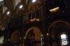 Inside the church at Montserrat