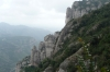 The rocks of Montserrat