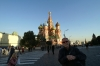 Bruce in front of St Basil's Cathedral in Red Square, Moscow RU.