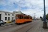 Street cars on the Embarcadero, San Francisco