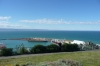Views of Napier, the port and Ahuriri from Bluff Hill Domain, Napier NZ
