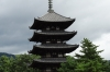 Five storey pagoda, Kofukuji Temple, Nara, Japan
