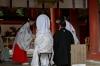 Wedding ceremony at the Kasuga Taisha Shrine, Nara, Japan