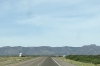 Highway 10 between Fort Stockton and El Paso TX USA