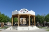 Bandstand. Old town of Mesilla NM USA
