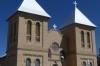 San Albino Catholic Church (1906), Old town of Mesilla NM USA