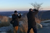 The photographers, Sunset at Bear Mountain, NY