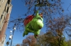 Grinch. Macy's Thanksgiving Day Parade around 65th Street, NY