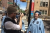 Evan & Steph, before the Convocational at Columbia University, New York