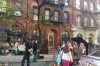 Filming in W 125th Street, New York