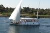 Cruising the Nile EG - Faluka sailing past