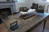 Sewing room in the basement, Bellamy Mansion, C1862, Wilmington NC