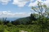 Waterrock Knob Overlook, the highest point, on the Blue Ridge Parkway NC