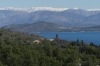 Albania from the village of Loustri, Corfu GR
