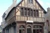 Half wooden housees in Tréguier
