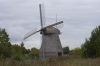 Old windmill in the Museum of Wooden Architecture near Novorod RU