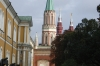Looking back to the Trinity Gate Tower in the Kremlin. Moscow RU