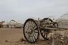 Yurt camp at Ayaz-Qala fortress 6C & 7C