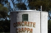 Concrete Crappa at Minnipa SA