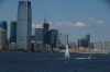 Paulus Hook District in New Jersey from the Staten Island ferry