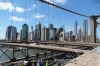Financial District skyline from the Brooklyn Bridge