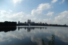 Jacqueline Kennedy-Onassis Reservoir. A walk in Central Park