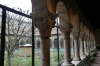 Cloister from Benedictine monastery of Saint-Michel-de-Cuxa near Perpignan, The Cloisters Museum, Fort Tryon Park, New York US