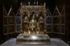 Reliquary Shrine from Convent of Poor Clares at Buda Hungary (French made), The Cloisters Museum, Fort Tryon Park, New York US