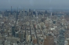 Midtown Manhatten from One World Observatory, New York US