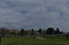 Kite flying in the cricket pitch for Clean Monday, Corfu GR